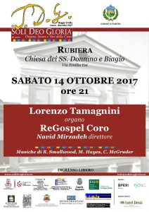 Locandina SDG ReGospelCoro 14.10.2017
